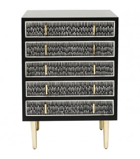 Komoda Piano 60 cm czarna