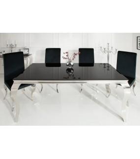Stół OXANA Modern Barock 200 Cm Czarny