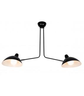 Lampa wisząca RAVEN 2 czarna