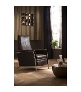 Krzesło RELAX LAZY w stylu vintage, industrial, retro do salonu, pokoju dziennego