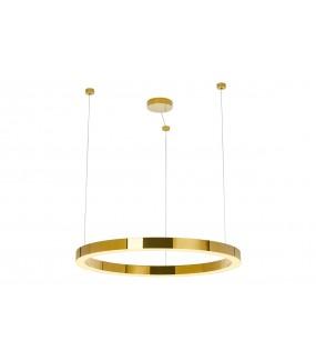 Lampa wisząca RING LUXURY 90 cm złota