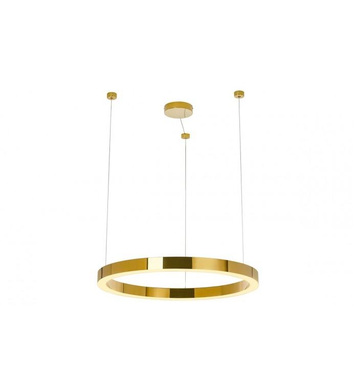 Lampa wisząca RING LUXURY 70Cm Złota
