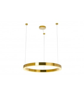 Lampa wisząca RING LUXURY 70Cm Złota do salonu