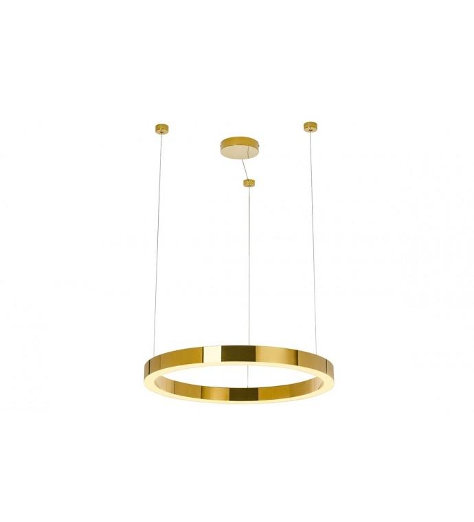 Lampa Wisząca RING LUXURY 110 Cm Złota