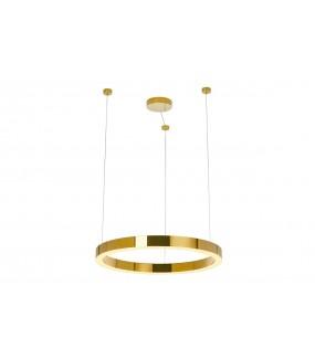 Lampa Wisząca RING LUXURY 110 Cm Złota do salonu