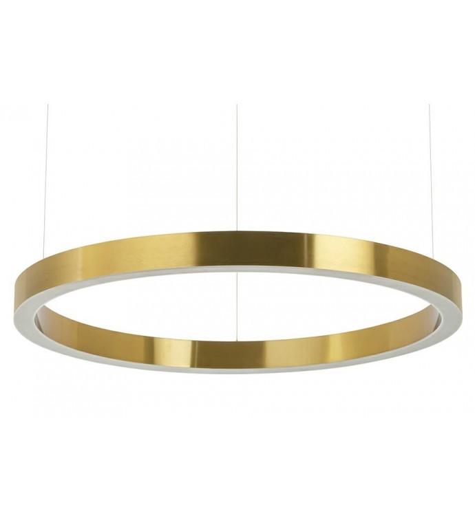 Lampa wisząca RING 80 cm złota