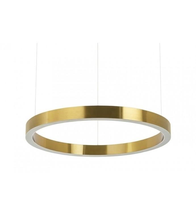 Lampa wisząca RING 60 cm złota