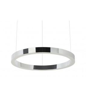 Lampa wisząca RING 60 cm srebrny