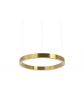 Lampa wisząca RING 40 cm złota