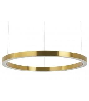 Lampa wisząca RING 100 cm złota