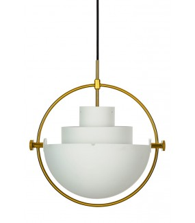 Lampa wisząca Varia biała do salonu