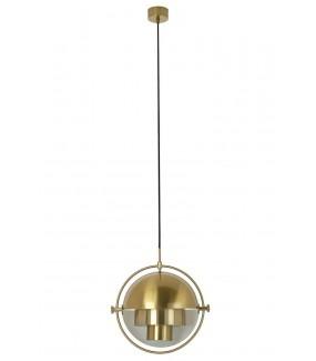 Lampa wisząca Varia czarna do salonu w stylu nowoczesnym