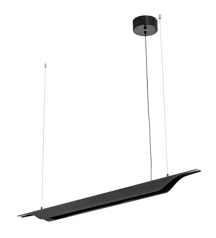 Lampa wisząca VERTIGO 125 cm czarna
