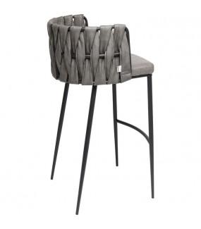 Nowoczesne krzesło barowe do jadalni