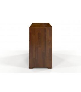 Komoda DERECHO 120 cm sosna w odcieniu dąb rustikal do salonu w stylu skandynawskim. Idealna do nowoczesnego przedpokoju.