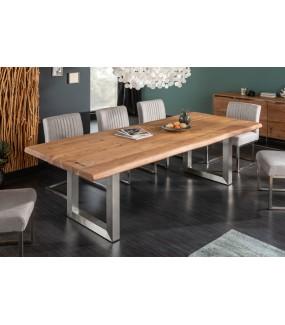 Stół ARKTYKA 220 cm drewno akacja do jadalni