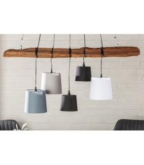 Lampa wisząca DRIFT 115 cm do jadalni lub kuchni w stylu nowoczesnym. Sprawdzi się w pokoju w stylu industrialnym.