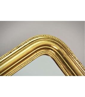 Lustro GRETA 164 cm złote do salonu