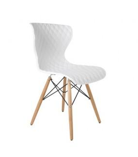 Krzesło Crow białe