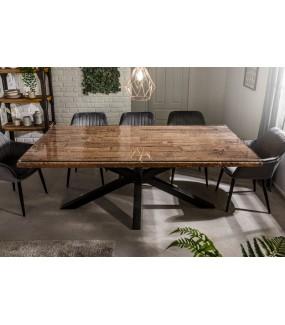 Stół Barrakuda 200 cm Sal do salonu w stylu industrialnym
