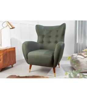 Komfortowy fotel ORION do pokoju w stylu vintage.