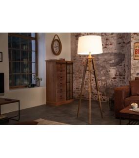 Lampa podłogowa TREISI 158 cm biała