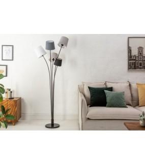 Lampa podłogowa LEVELS 50 cm do pokoju w stylu nowoczesnym. Idealna do skandynawskiego salonu.