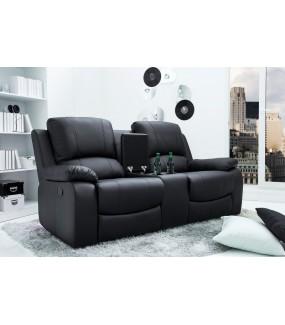 Komfortowy fotel kinowy do pokoju dziennego w stylu nowoczesnym. Idealny do salonu w stylu skandynawskim.