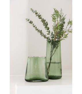 Wazon Iregular zielony do salonu