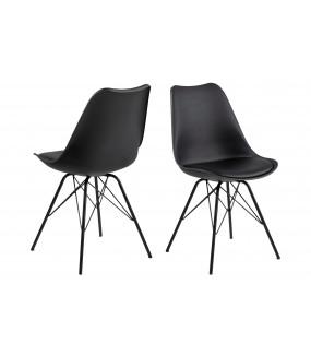 Krzesło Eris czarne