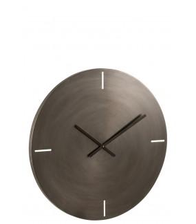 Zegar Metallo 77 cm szary