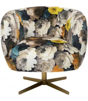 Fotel obrotowy Peony Flower