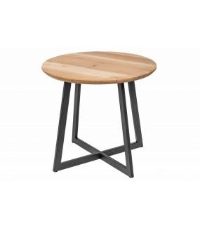 Praktyczny stolik do pokoju skandynawskiego lub poczekalni. Sprawdzi się jako szafka nocna w sypialni.
