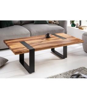 Piękny stolik kawowy do salonu w stylu industrialnym. Sprawdzi się w pokoju zaaranżowanym w stylu skandynawskim.