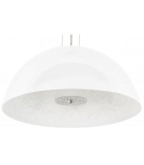 Lampa wisząca ELEGANTE 90 cm biała