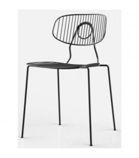 Wygodne krzesło idealnie sprawdzi się na balkonie czy tarasie. Świetnie będzie się prezentować w ogrodzie.