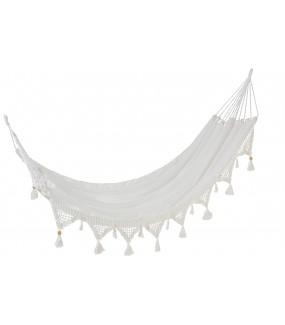 Hamak Lace bawełna biały
