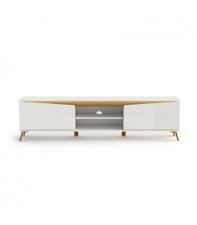Stolik pod TV ALADYN 200 cm biały