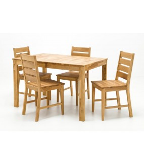 Piękny stół do jadalni w stylu nowoczesnym. Sprawdzi się do kuchni w stylu nowoczesnym.