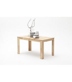 Praktyczny rozkładany stół FRITZ będzie idealny do jadalni urządzonej w skandynawskim stylu. Sprawdzi się w nowoczesnym salonie.