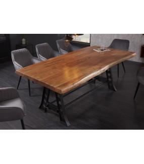 Industrialny stół do salonu oraz jadalni
