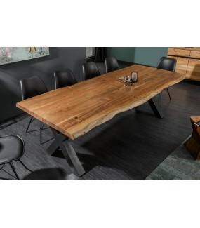Stół ARKTYKA X 200 Cm Drewno Akacja W Kolorze Miodu