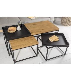 Praktyczny stolik kawowy idealnie sprawdzi się w salonie w stylu klasycznym.