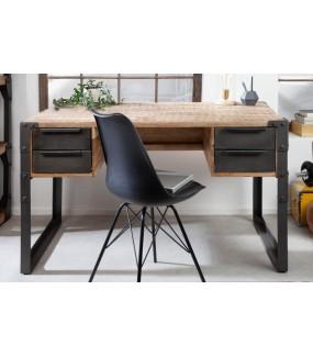 Praktyczne biurko z szufladami  idealnie sprawdzi się w biurze oraz domowym gabinecie.