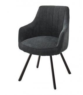 Obrotowe krzesło tapicerowane REYNOSA świetnie sprawdzi się w biurze oraz domowym gabinecie
