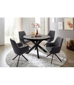 Praktyczny rozkładany stół do klasycznego salonu lub nowoczesnej jadalni