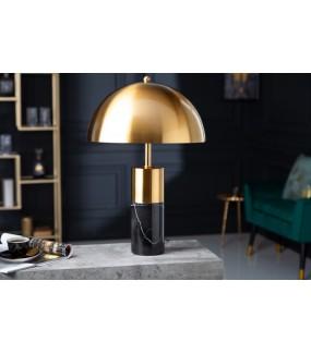 Piękna lampa do salonu w stylu glamour.