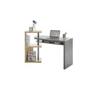 Praktyczne rozsuwane biurko będzie idealne do nowoczesnego domowego gabinetu lub pokoju.
