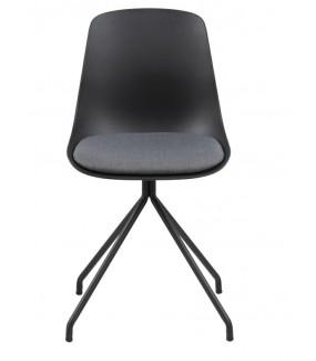 Krzesło idealnie wpisze się we wnętrza industrialne oraz modern classic. Sprawdzi się w przestrzeni publicznej.