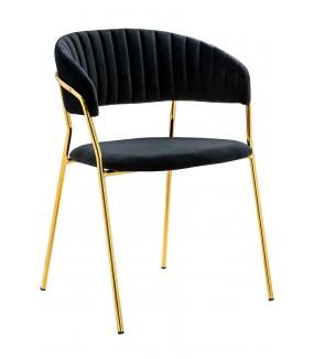Przepiękne krzesło Margo w stylu glamour